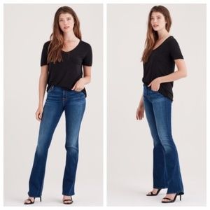 7 For All Mankind Kimmie Bootcut Jeans 28